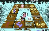 Lucky Luke: Gamblin' Cowboy Commodore 64 Throwing the dice...