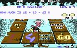Lucky Luke: Gamblin' Cowboy Commodore 64 Answer the mathematical question...