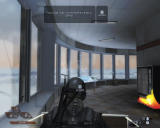 Tom Clancy's Rainbow Six: Vegas 2 Windows Firing a turret.