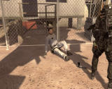 Tom Clancy's Rainbow Six: Vegas 2 Windows You had to shoot him, he was going for the gun.