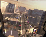 Tom Clancy's Rainbow Six: Vegas 2 Windows Las Vegas from the helicopter
