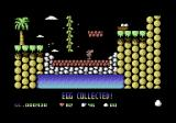Cavemania Commodore 64 Carrying one of the eggs right now