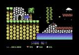 Cavemania Commodore 64 One egg down. Two more to go