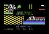 Cavemania Commodore 64 All eggs returned to the cave