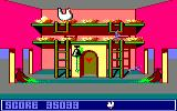 Chicken Chase Amstrad CPC A snake is trying to get to the egg