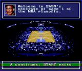 Bulls vs. Lakers and the NBA Playoffs Genesis TV style-like presentation