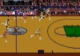 Bulls vs. Lakers and the NBA Playoffs Genesis Courts now have the logo of the home team. Here you see the old logo of the Milwaukee Bucks