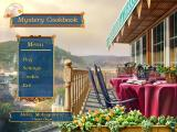 Mystery Cookbook Windows Main menu