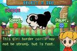 Sheep Game Boy Advance You can choose the type of dog to play