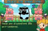 Sheep Game Boy Advance If those smileys are not meaningful enough for you, they can be switch to good old numbers