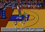 Bulls vs. Lakers and the NBA Playoffs Genesis The new replay mode; Chuck Person high above the rim