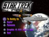 Star Trek Pinball DOS Main Menu