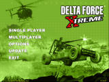 Delta Force: Xtreme Windows Main menu