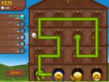 Smileyville Windows The puzzle mode needs you to draw a line via mismatching smileys.