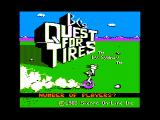 BC's Quest for Tires Apple II Title screen