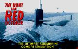 The Hunt for Red October Atari ST Title screen