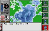 The Hunt for Red October Atari ST The map screen