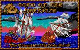 Gold of the Americas: The Conquest of the New World Atari ST Title screen