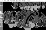 Space Quest: Chapter I - The Sarien Encounter Macintosh In a strange cave...