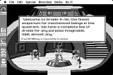 Space Quest: Chapter I - The Sarien Encounter Macintosh The Droids-R-Us sales pitch...