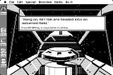 Space Quest: Chapter I - The Sarien Encounter Macintosh Oh great, an asteroid field!