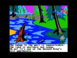 The Black Cauldron Apple II A deadly looking swamp