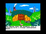 The Black Cauldron Apple II I found a door...