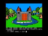 Sorcerer of Claymorgue Castle Apple II The game begins here