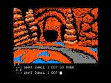 Sorcerer of Claymorgue Castle Apple II A nice underground cavern