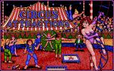 Circus Attractions Atari ST Title screen