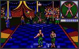 Circus Attractions Atari ST Knife throwing