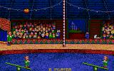 Circus Attractions Atari ST Clown jumping