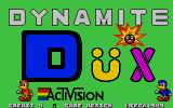 Dynamite Düx Atari ST Title screen