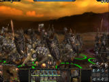 Warhammer: Mark of Chaos Windows The look of chaos. The troops in squads can have multiple appearances, adding diversity and a sense of realism.