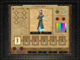 Warhammer: Mark of Chaos Windows Showing your true colors. Not only can you pick units for your custom armies, but also change how they look and their color schemes.