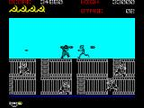 Rush'n Attack ZX Spectrum Stage 2 - currently armed with a powerful bazooka.