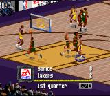 NBA Live 97 SNES Good, for two points!
