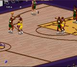 NBA Live 97 SNES Passing to an open teammate
