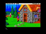 King's Quest IV: The Perils of Rosella Apple II Whoa, avoid this giant!
