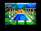 King's Quest IV: The Perils of Rosella Apple II Nice pool...