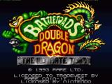 Battletoads & Double Dragon: The Ultimate Team SNES Title