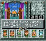 Might and Magic III: Isles of Terra SNES In a temple