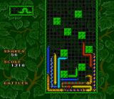 WildSnake SNES Forest background with obstacle grid