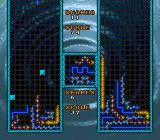 WildSnake SNES 2-player mode with obstacles on the opposing player's screen