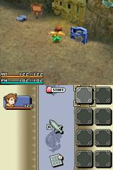 Final Fantasy: Crystal Chronicles - Ring of Fates Nintendo DS How to solve first puzzle?