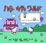 "Hello Kitty World NES The very short backstory is told in ""balloons""."