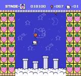Hello Kitty World NES Collect all the balloons for extra lives.