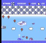Hello Kitty World NES Kitty can't swim.