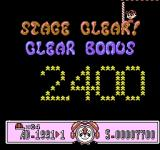 Time Zone NES Your bonus is calculated by how high you jump at the rope