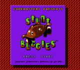 Quattro Arcade NES Stunt Buggies title screen